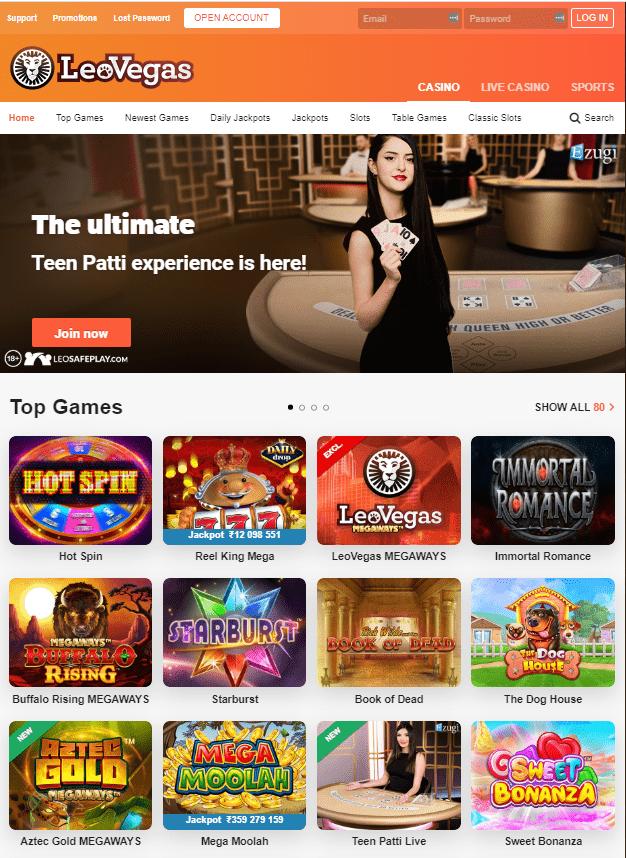 SlotsLeoVegas Casino